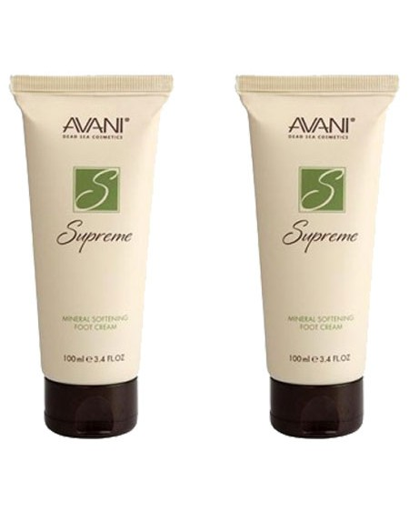 2 AVANI Supreme Mineral Softening Foot Cream - Bundle