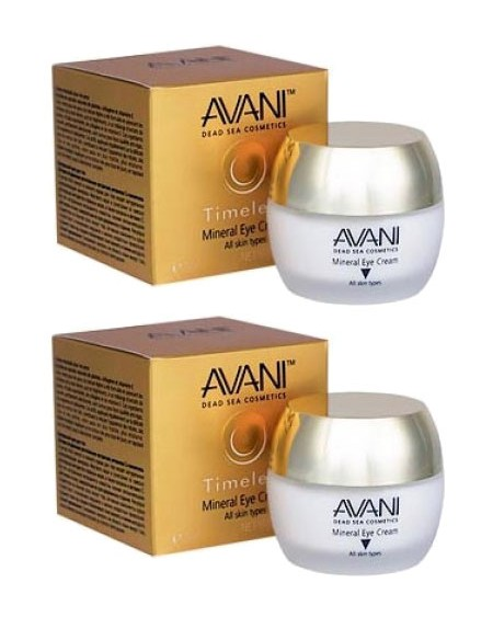 2 AVANI Timeless Mineral Eye Cream - Bundle