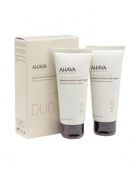 AHAVA Dermud Hand & Foot Cream Duo