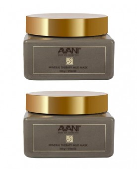 2 AVANI Supreme Mineral Therapy Mud Mask - Bundle