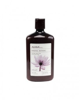 AHAVA Mineral Botanic Velvet Cream Wash - Lotus & Chestnut ( For Sensitive Skin )