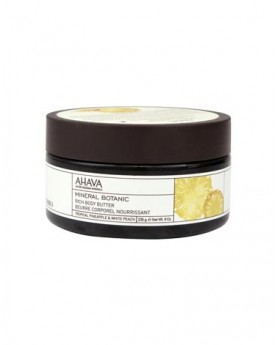 AHAVA Mineral Botanic Rich Body Butter – Tropical Pineapple & White Peach