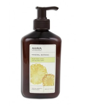 AHAVA Mineral Botanic Velvet Body Lotion Tropical Pineapple & White Peach