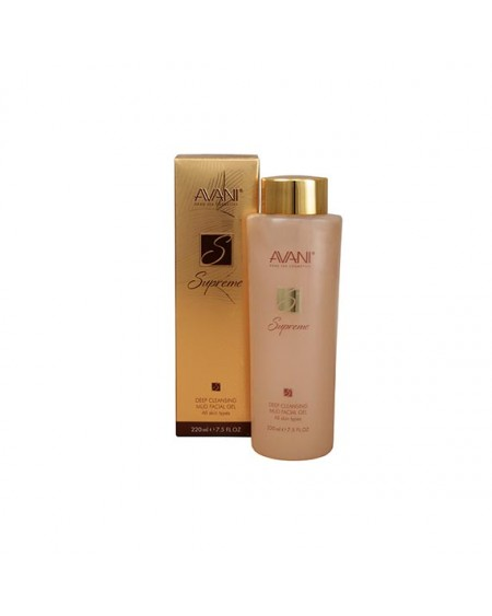 AVANI Supreme Deep Cleansing Mud Facial Gel