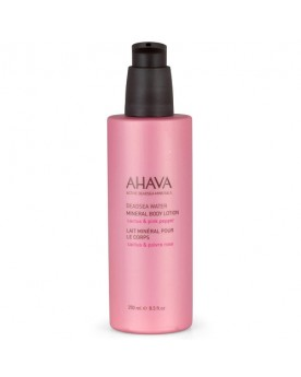 AHAVA Dead Sea Water Mineral Body Lotion - Cactus & Pink Pepper