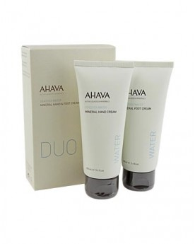 AHAVA Mineral Hand & Foot Cream Duo