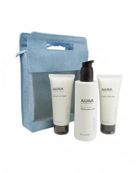 AHAVA Mineral Hand, Foot & Body Care Kit