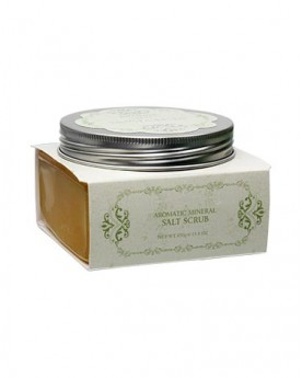 INTENSIVE SPA NOSTALGIA Aromatic Mineral Salt Scrub - Eden/Yellow