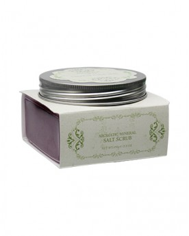 INTENSIVE SPA NOSTALGIA Aromatic Mineral Salt Scrub - Romance/Purple